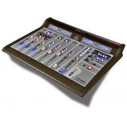 DX816 Consola Digital de 12 canales con opción AoIP