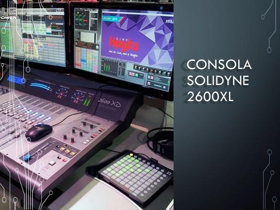 Consola solidyne 2600XL