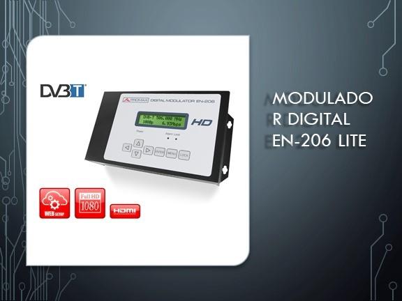Modulador Digital EN-206 Lite